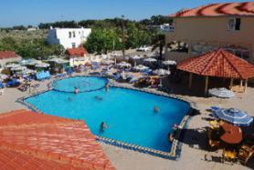 Ostrov Rhodos a hotel Fantasy s bazénem