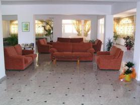 Ostrov Rhodos a hotel Fantasy s lobby