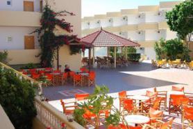 Ostrov Rhodos a hotel Fantasy s terasou