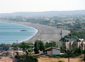 Ostrov Rhodos, pobřeží obce Gennadi