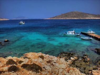 Pobřeží ostrova Rhodos