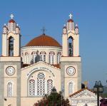 Rhodos - kostel Agios Panteleimon ve vesnici Siana